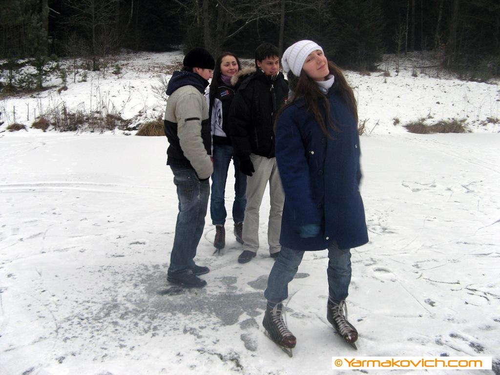 Снежинка на коньках