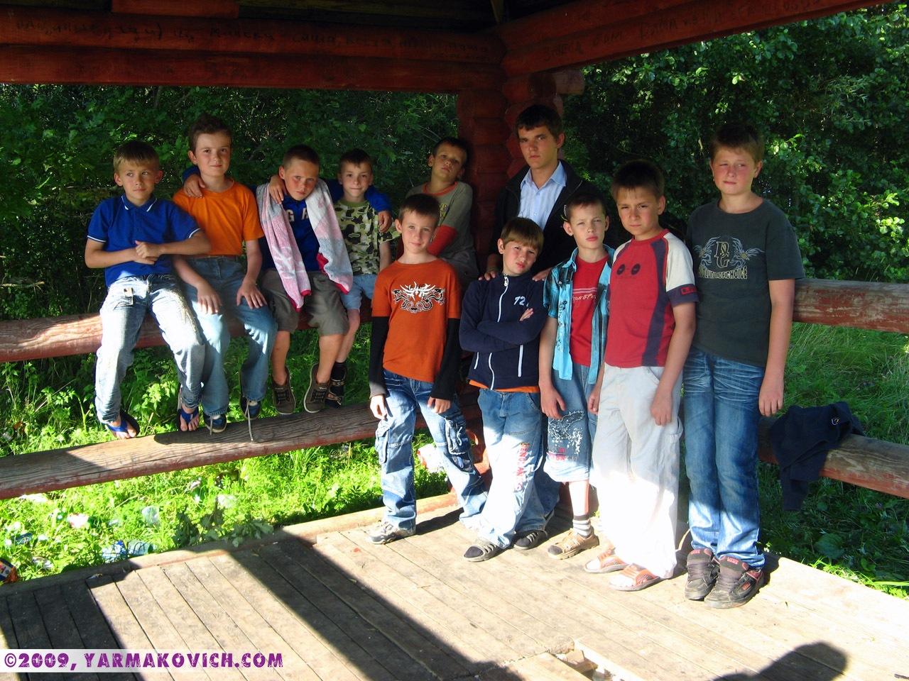 Дима с командой Воины Христа