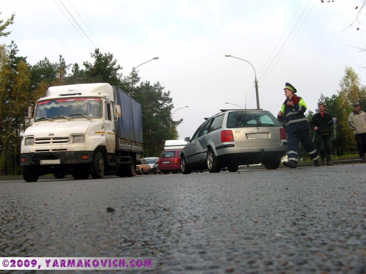 Авария 23 октября 2009 года