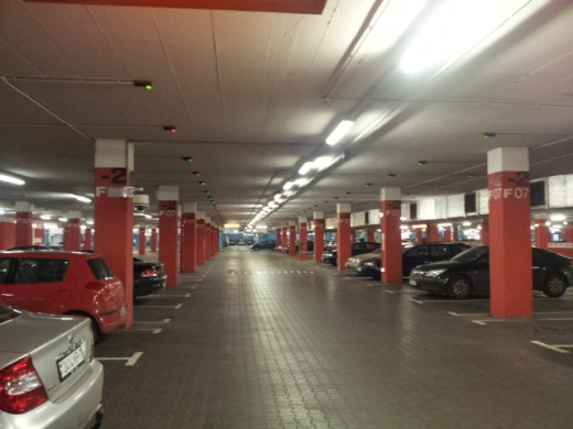 паркинг в Аркадии