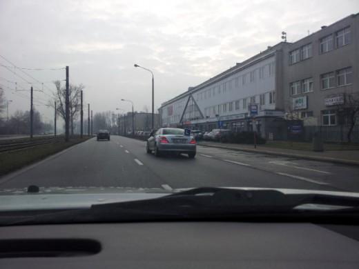 учебный автомобиль в Варшаве