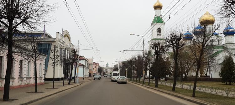 в центре Бобруйска