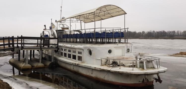 пароход на Березине