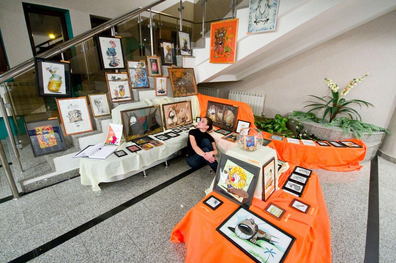 выставка Александры Канофальской