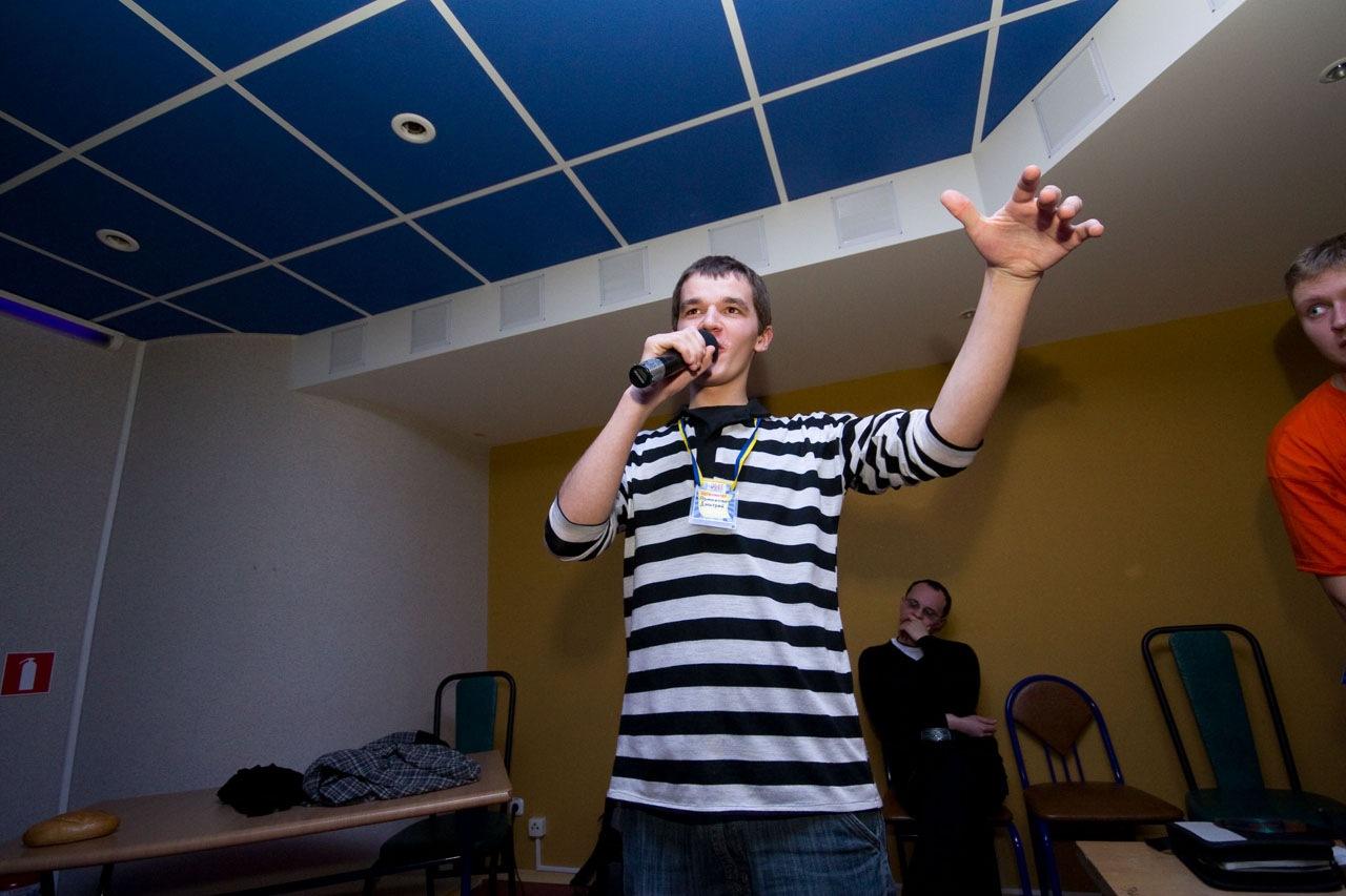 Дима Ярмакович на сцене