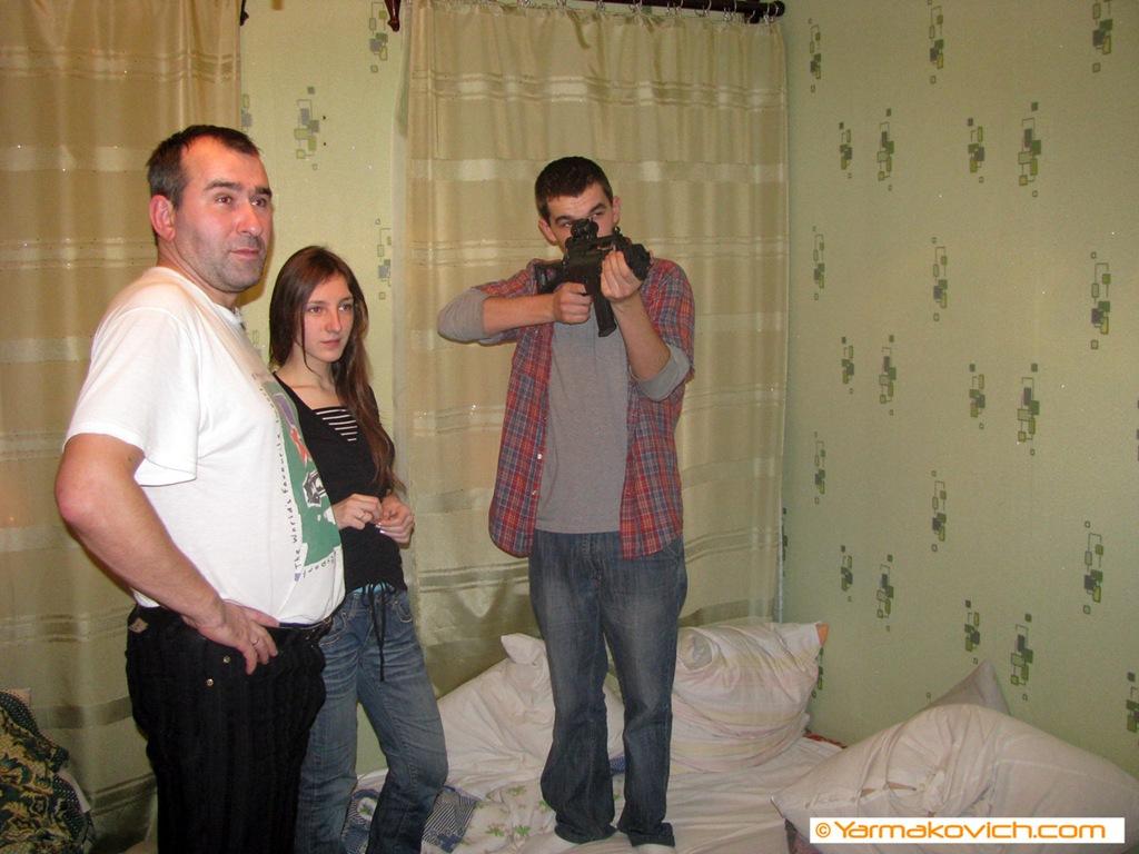 стреляем по мишеням:)