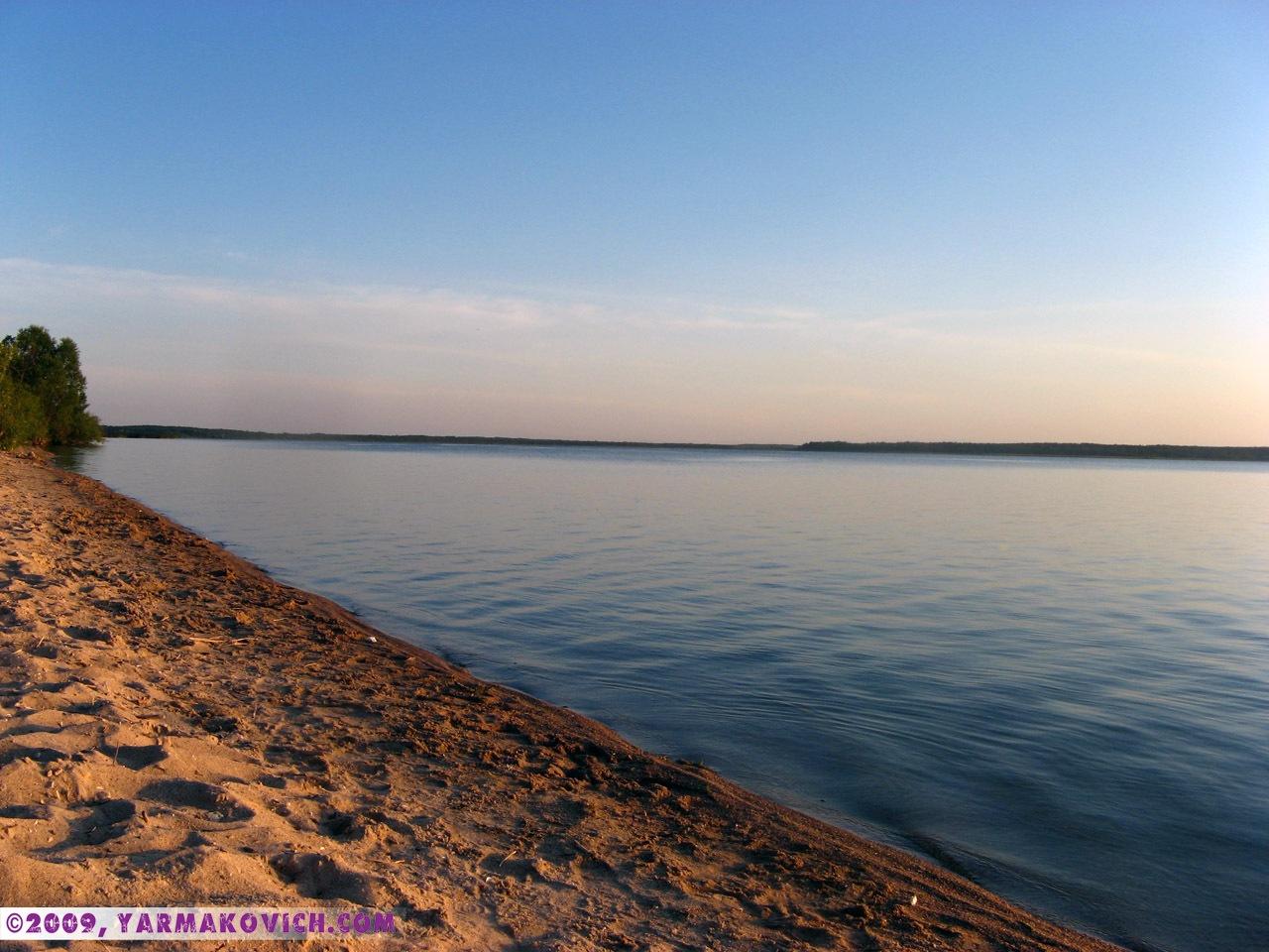 На берегу озера Дривяты