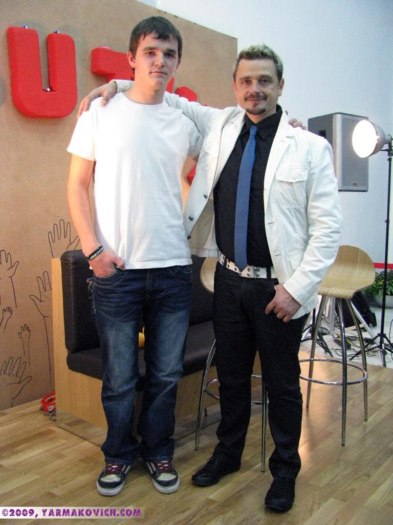 Дима Ярмакович и Александр Патлис