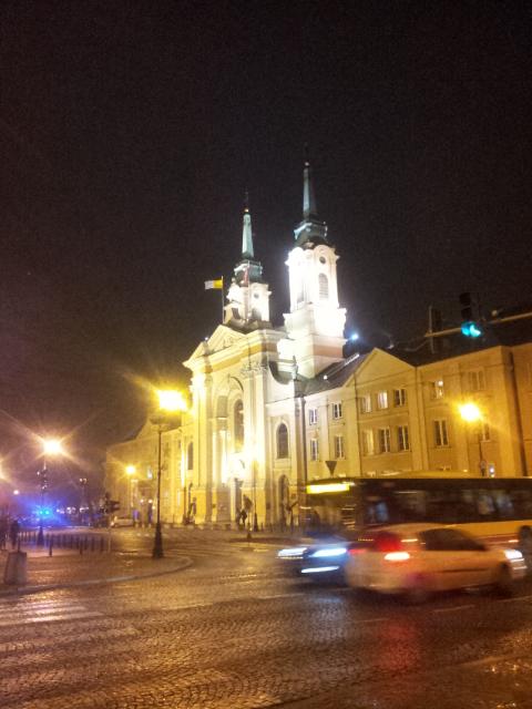 где-то в Варшаве