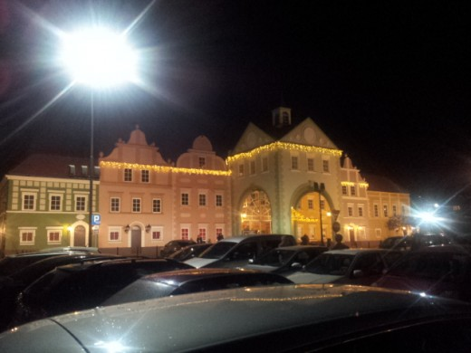 торговый центр в виде замка