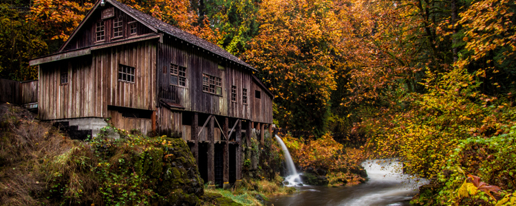 Fall Colors at the Grist Mill