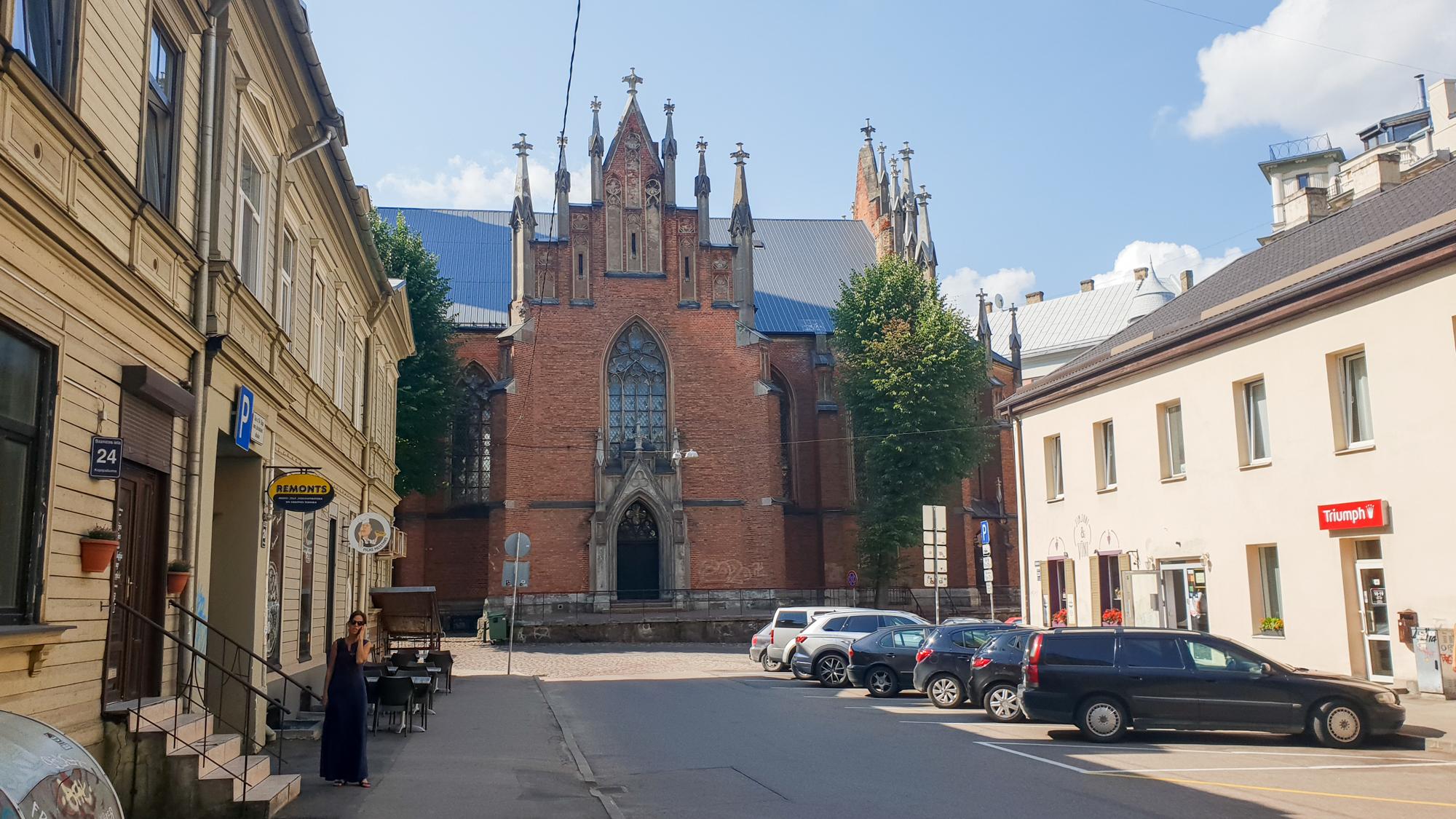 Лютеранская церковь в Риге