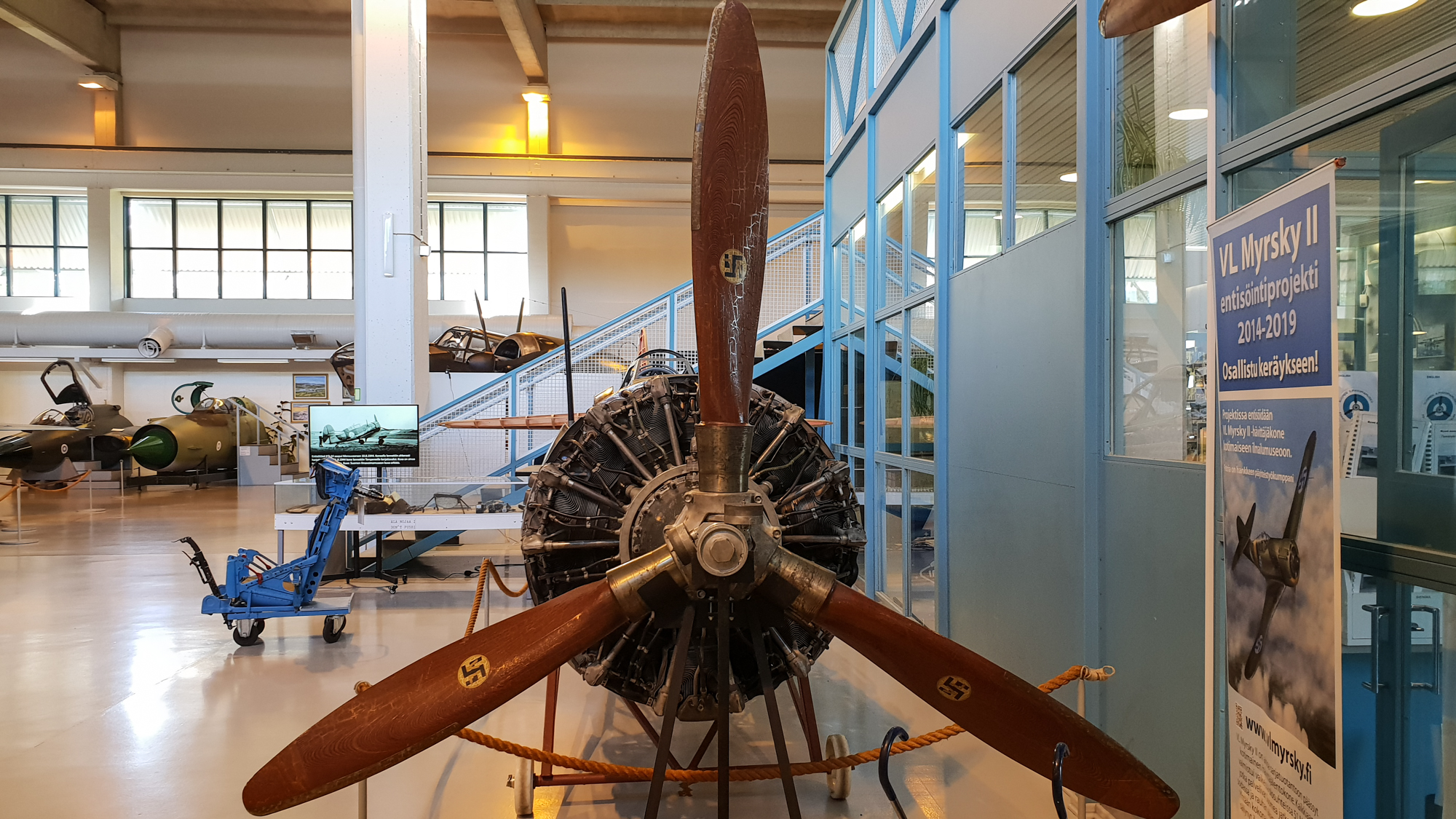 Музей авиации в Ювяскюля