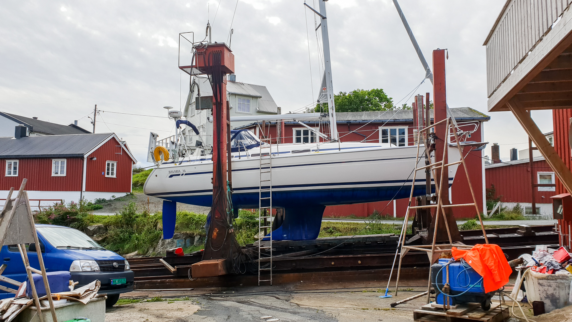 яхта в Хеннингсвер
